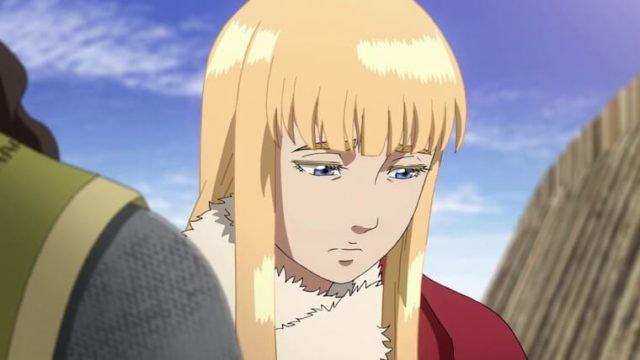 アニメ『ヴィンランド・サガ』うつむくクヌート王子