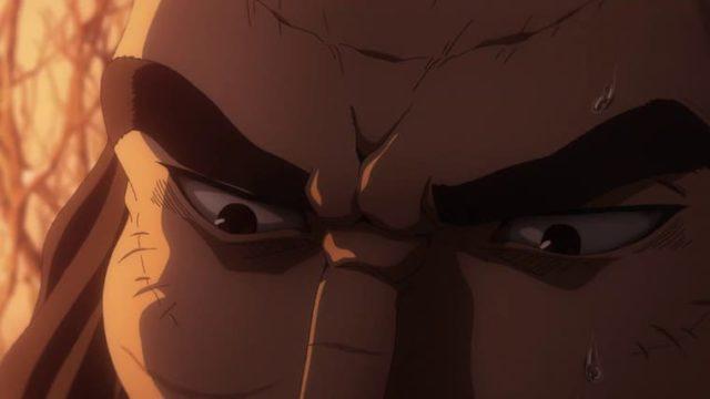 アニメ『ヴィンランド・サガ』アシェラッドたちの罠にかかったラグナル