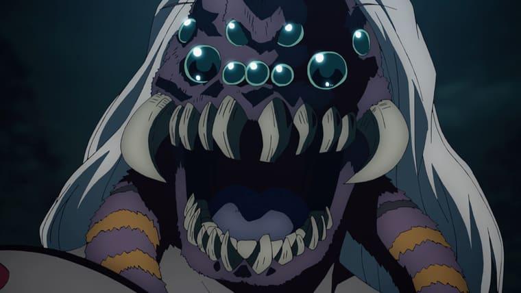 アニメ『鬼滅の刃』現れた父蜘蛛