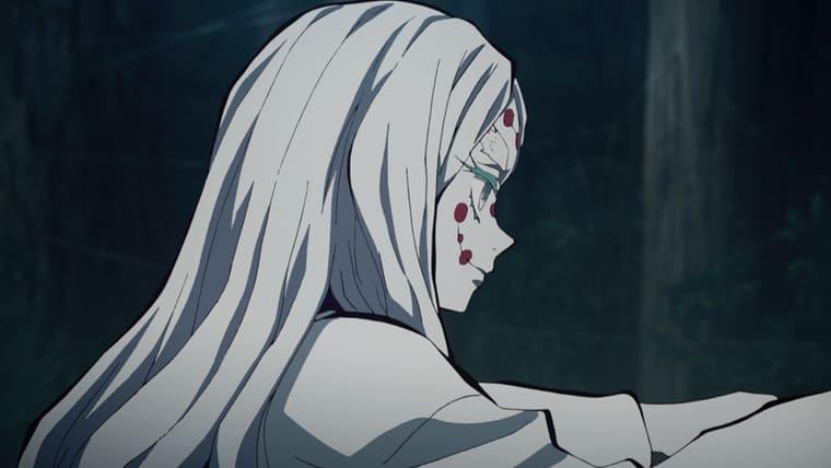 アニメ『鬼滅の刃』糸を操る母蜘蛛