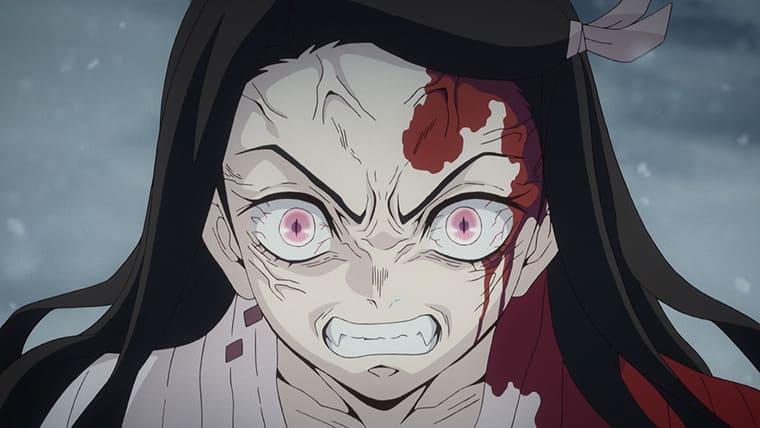 アニメ『鬼滅の刃』鬼となってしまった禰豆子