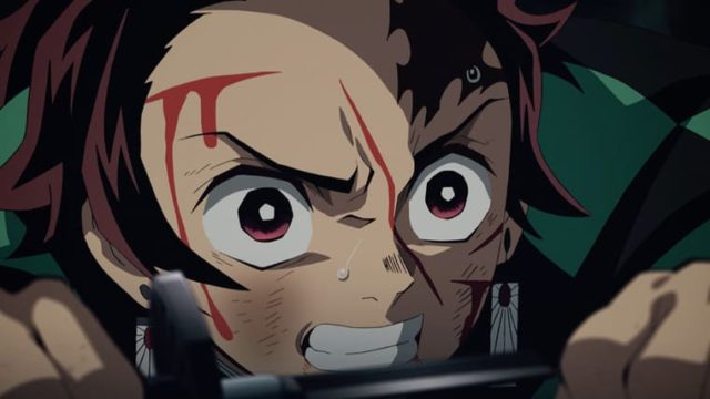 アニメ『鬼滅の刃』傷だらけの炭治朗