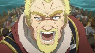 アニメ『ヴィンランド・サガ』大声で叫ぶアシェラッド