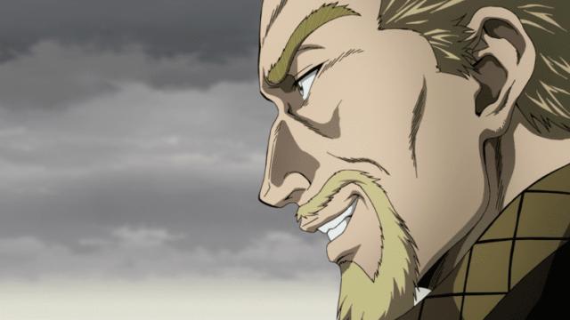 アニメ『ヴィンランド・サガ』軍船で現れたフローキ