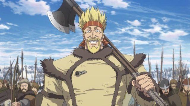 アニメ『ヴィンランド・サガ』斧を持ったトルケル