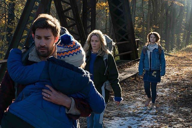映画『クワイエット・プレイス』音が出せない世界を歩く家族