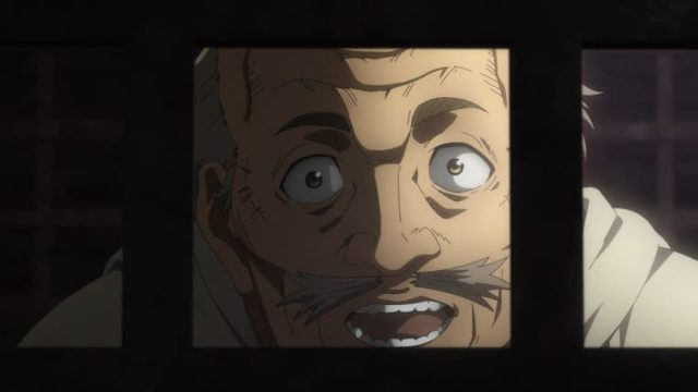 アニメ『ヴィンランド・サガ』トルフィンを捜しに来たレイフ
