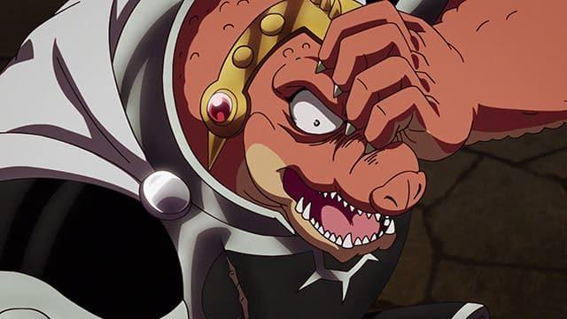 アニメ『ダイの大冒険』片目に傷を負ったクロコダイン