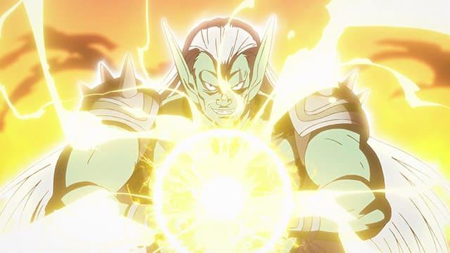 アニメ『ダイの大冒険』ベギラゴンを放つハドラー