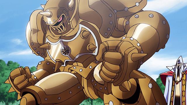アニメ『ダイの大冒険』鎧を身に着けたフレイザード