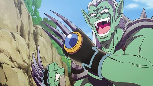 アニメ『ダイの大冒険』ヘルズクローを使うハドラー