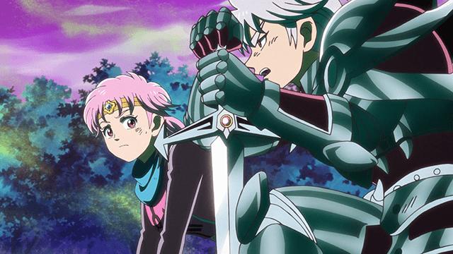 アニメ『ダイの大冒険』ヒュンケルとマァム