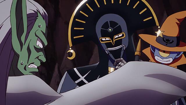 アニメ『ダイの大冒険』ハドラーの前に現れた死神キルバーン