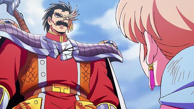 アニメ『ダイの大冒険』ダイたちの前に現れた竜騎将バラン