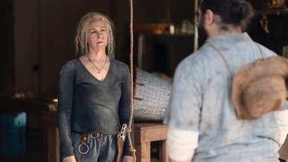 『ウォーキング・デッド』ジェリーと話すキャロル