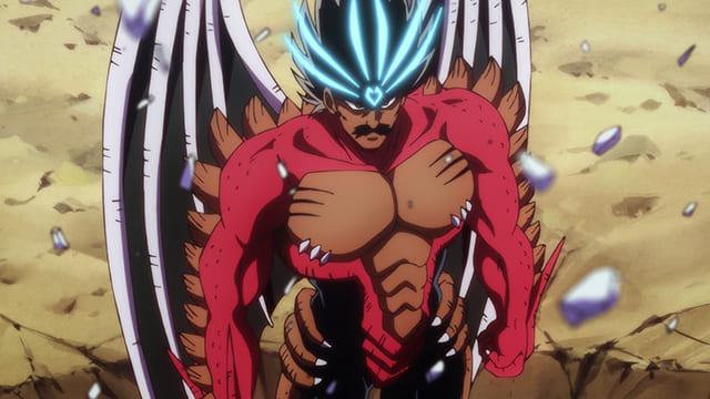 アニメ『ダイの大冒険』竜魔人となったバラン