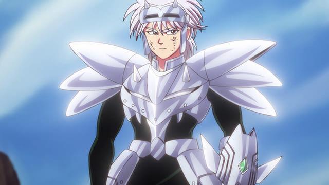アニメ『ダイの大冒険』鎧の魔槍を身につけたヒュンケル