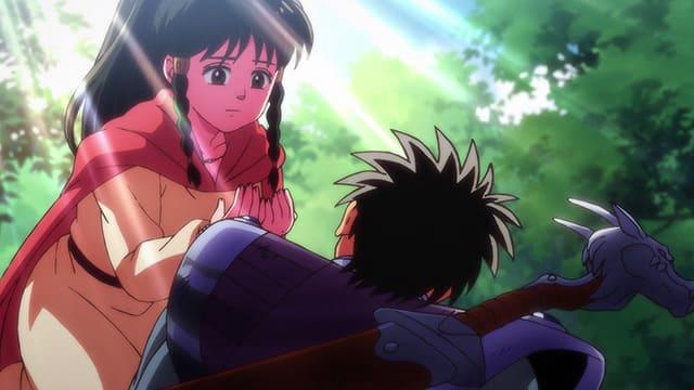 アニメ『ダイの大冒険』バランを助けるソアラ