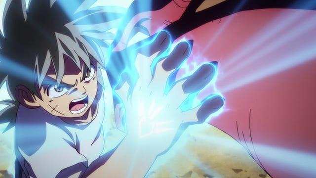 アニメ『ダイの大冒険』拳に紋章を宿したダイ