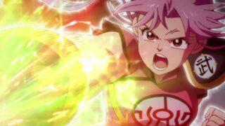 アニメ『ダイの大冒険』閃華裂光拳を放つマァム