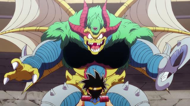 アニメ『ダイの大冒険』超魔生物と化したザムザ
