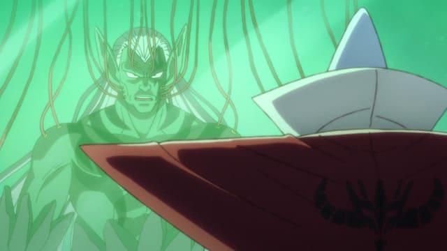 アニメ『ダイの大冒険』超魔生物へと変わろうとするハドラー