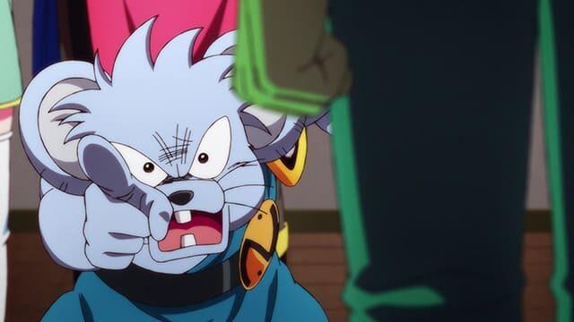 アニメ『ダイの大冒険』ポップに叫ぶチウ
