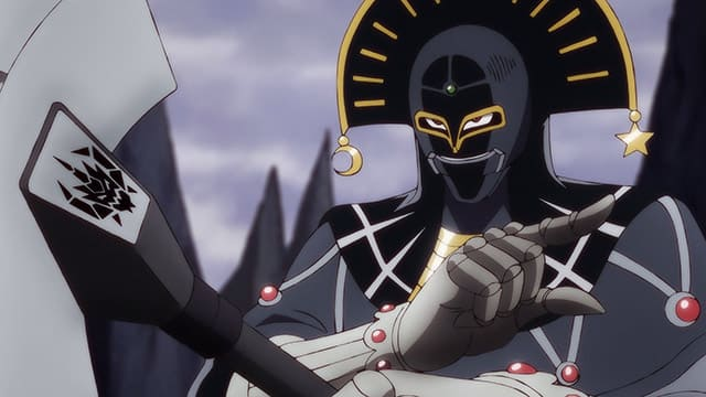 アニメ『ダイの大冒険』死神の笛を持ったキルバーン