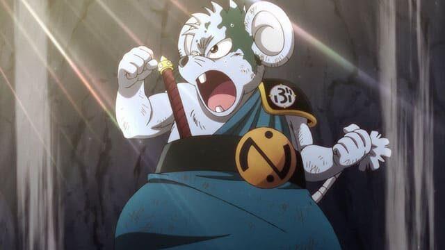アニメ『ダイの大冒険』叫ぶチウ