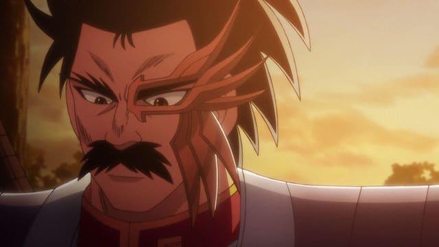 アニメ『ダイの大冒険』穏やかな表情のバラン
